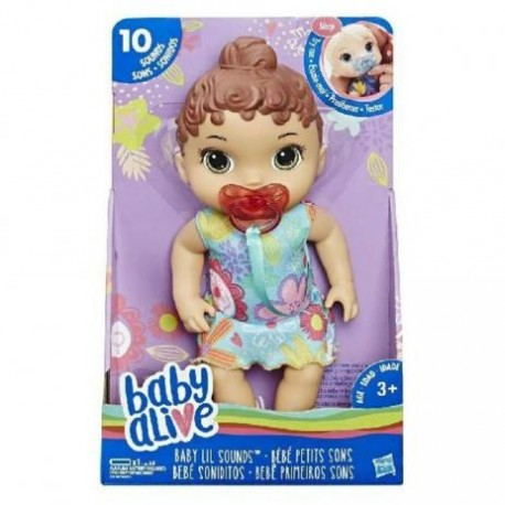 Baby Alive Primeiros Sons